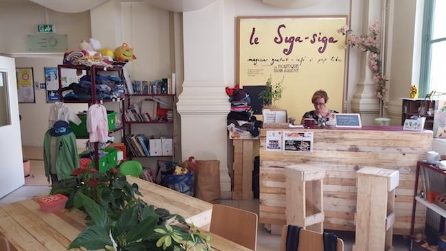 la boutique sans argent