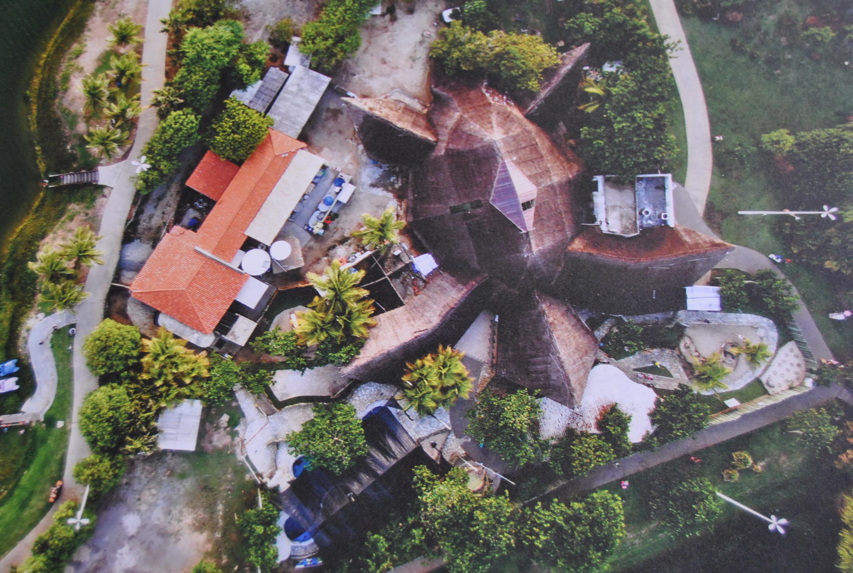 Vista aérea do Oceanário de Aracaju Tamar
