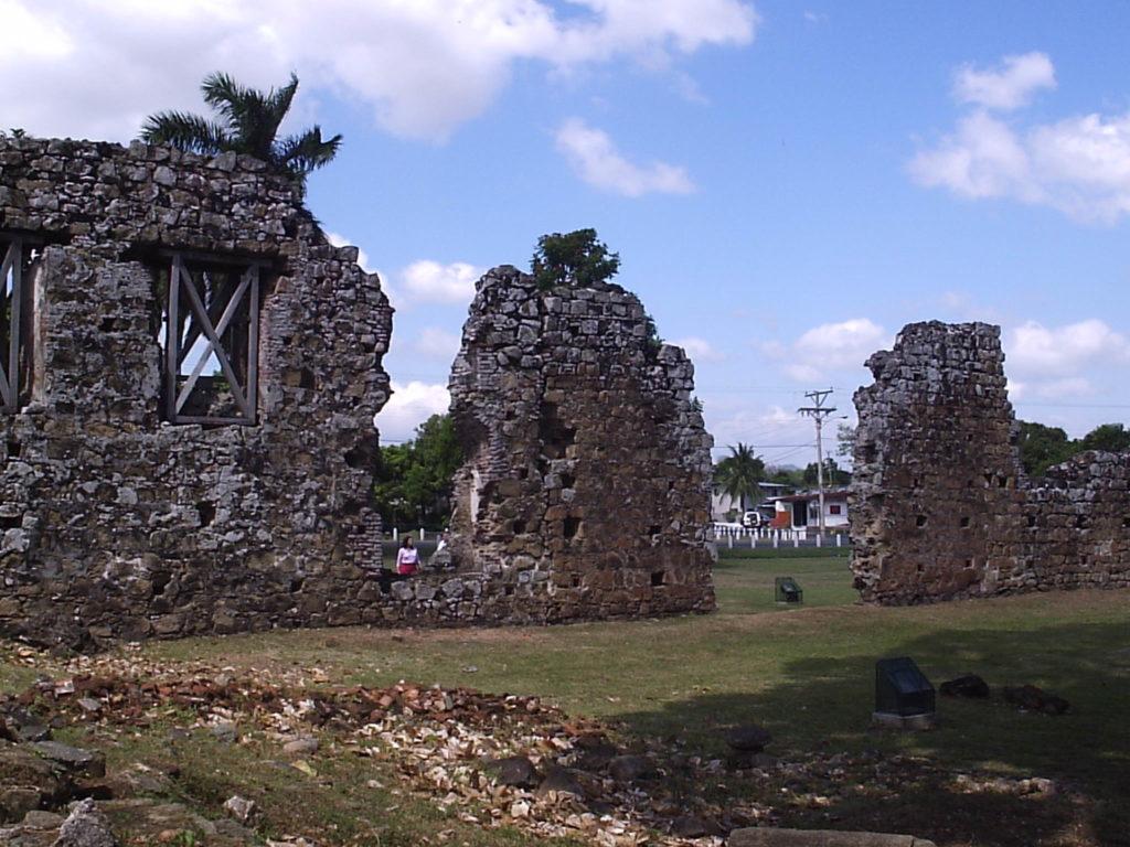 Ruínas Casco Antiguo Panamá