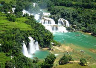 Cachoeira de Ban Gioc - Cao Bang Vietnã